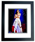 Selena Gomez Signed - Autographed Singer - Actress 8x10 Inch Photo Framed