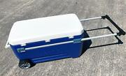 Igloo Glide 110 Large Ice Cool Box Wheeled Cooler Beer Cooler