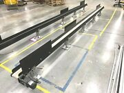 18and039 X 6 In Belt Conveyor System Flexlink Base Stand Oriental 51k50gn-aw2t Motor