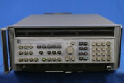 Hp 8341b Signal Generator Sweep 10mhz To 20ghz Resolution 1hz Rear Panel Out