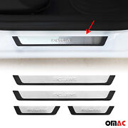 For Honda Accord Entry Guard Door Sill Cover Protector Stainless Steel Exclusive