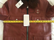 Coach Mens Pilot Leather Jacket Rrp Andpound1000 New