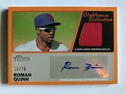 2015 Roman Quinn Topps Heritage 9/25 Autograph Issue Red Jersey Rare