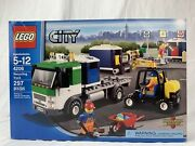 Lego City 4206 Recycling Truck 297 Pieces Ages 5-12 - New Sealed Damaged Box