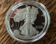 2000 P 1 Proof American Silver Eagle 1oz Gem From Mint Beautiful