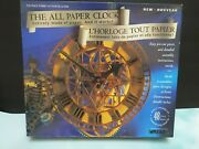 The Peace Tower All Paper Clock - Wrebbit Clp-12 1993 - Sealed New Box
