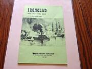 Guidon Games 1973 Ironclad - Civil War Naval Rules - Tom Wham And Lowry Mint