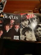 Beatles Magazine Lot 13 Count In 3 Ring Binder