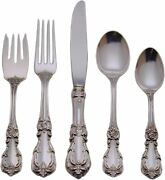 Burgundy Sterling Silver By Reed And Barton, 5pc Place Setting, Factory Brand New