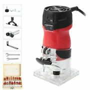 Woodworking Electric Trimmer Wood Milling Hand Carving Machines Router Tools New