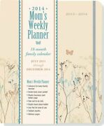 2014 Butterflies Mom S Weekly Planner 18-month Calendar Family Cale