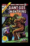 Man-thing By Steve Gerber The Complete Trade Paperback 9781302902412 Marvel