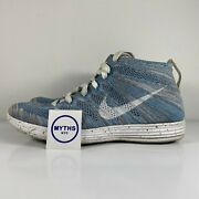 Nike Lunar Flyknit Chukka Htm Snow Pack And039blue Glowand039 - 599347 410 - Size 8