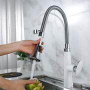 Fashion Kitchen Sink Faucet Hot Cold Tap Swivel Nozzle Head Rotatable Bathroom
