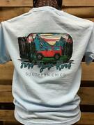 Southern Chics Apparel Find Your Road Mason Jar Jeep Comfort Colors Bright T Shi