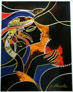 Oleg Zhivetin The Wish Ap 44/50 Coa, Signed And Numbered Silkscreen On Paper