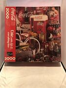 New Coca Cola 2000 Piece Puzzle Springbok Coke Adds Life To Everything Nice