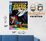 Silver Surfer 4 Cover Wall Poster Multiple Sizes 11x17-24x36