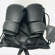 Alexander Wang X Handm Womens Solid Leather Boxing Gloves Black Size Os