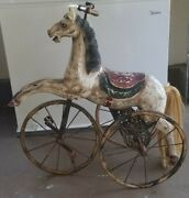Antique Tricycle Horse