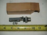 Nos Auto Car Starter Push Button Switch Silver Colored Button Rat Hot Rod