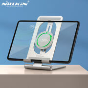 Nillkin For Iphone Ipad Matepad Pro 15w Qi Wireless Charger Tablet Alloy Holder