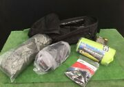 Camping Kit Included Sleeping Bag Mattress, Sleep Liner, Tent,tactical Backpack