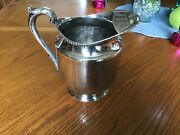 Poole Old English Pitcher Silver Plated