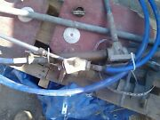 Complete Steering Assembly Rudders Bearing Linkage Cable Etc