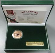 2005 Gold South Africa 500 Minted 1 Oz Star Of Africa Diamond Box And Coa