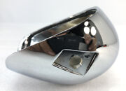 Gilroy Indian Motorcycle Co. Chrome Left Rear Turn Signal Lens Housing 68-003