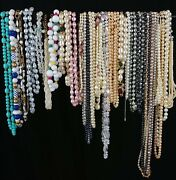 Avon Costume Jewelry Huge Lot Bracelets Necklaces Earrings Brooches Pearl