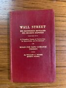 Wall Street Itand039s Mysteries Revealed Its Secrets Exposed. William C. Moore. Rare
