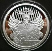 Winter Is Here 1oz Proof Silver Shield Group Ssg 2017 Death Of The Dollar 1