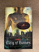 The Mortal Instrumentscity Of Bones By Cassandra Clare 2007 Hardcover Signed