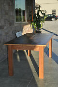 Homemade Wooden Table- Never Used.partly Made Of Reclaimed Lumber. Pick-up Only