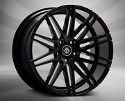 22and039and039 Inch Mercedes S550 Wheels Tires Black Concave Fits Audi A6 A8 S400 S6 5x112