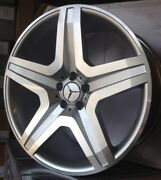 21 Wheels Fit Mercedes With Tires G Wagon G55 G550 G500 Amg G63 Silver Rims