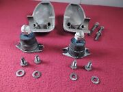 Johnson Evinrude Housing And Lower Rubber Mounts From 1957 5.5 Hp White
