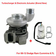 New Turbo And Electronic Actuator Set Fits Dodge Ram 2500 3500 6.7l Diesel He351ve