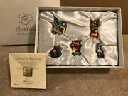 Disney Alice In Wonderland Alice And Friends Pewter Miniatures + Box And Coa