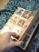 Baseball Cards 33 Pages Front And Back Almost 600 Cards