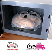 Microwave Dish Lid With Steam Diffuser Design 11.8 Inchpack Of 2