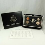 1994 United States Mint Premier Silver Proof Set - With Box And Coa W2c