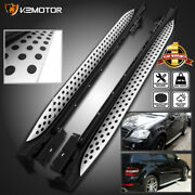 For 2006-2011 Mercedes W164 Ml Class 320 350 Running Boards Side Step Nerf Bars