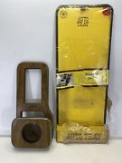 Rare Vintage Gladney Brothers 1441 Wooden Auto Tray Center Console Camaro 82-on