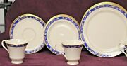 Pickard China And039classic Cloisonneand039 Hand Decorated Set Of 20