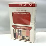 Clarins Travel Exclusive Make-up Vanity Face,eyes And Lips New Sealed