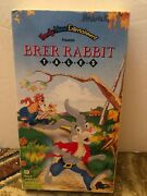 Brand New Family Home Entertainment Brer Rabbit Tales Vhs Preview Tape 1991