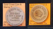 Gold Coast Coin And Stamp Supplies Dealers Only Ft Lauderdale Fla Wooden Nickel